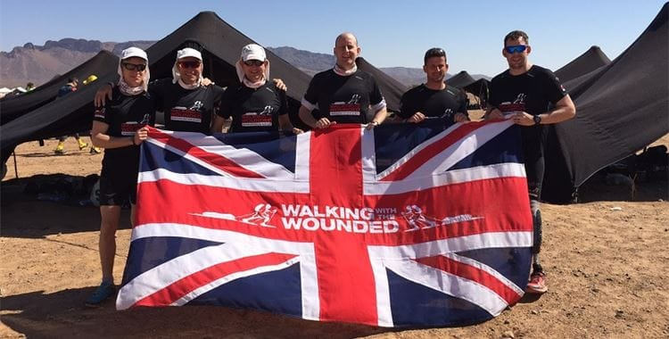 Walking with the Wounded Image